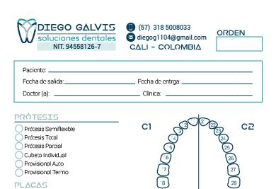 Orden de Trabajo Diego Galvis